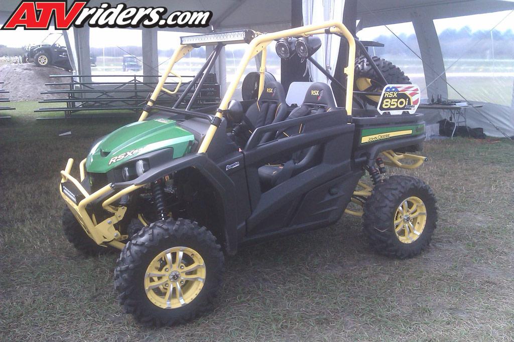 2012 John Deere RSX850i Sport Gator SidebySide Leaked Photo