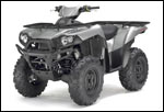 Galaxy Silver Kawasaki Brute Force 650 4x4i ATV