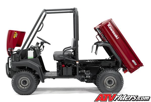 2008 kawasaki mule™ 3010 4x4 diesel side x side - features