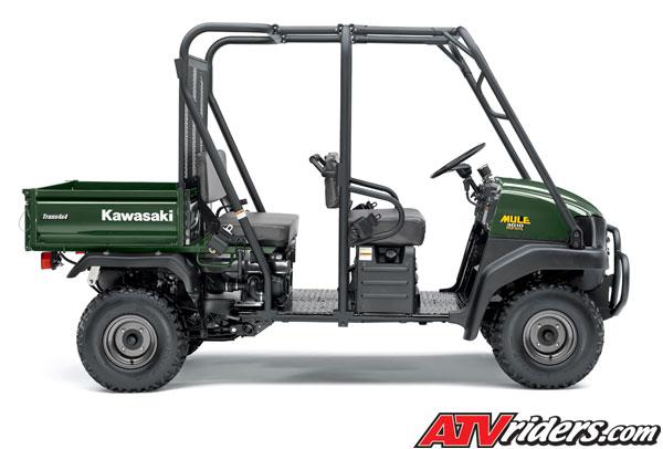 2008 kawasaki mule™ 3010 trans 4x4 diesel side x side - features