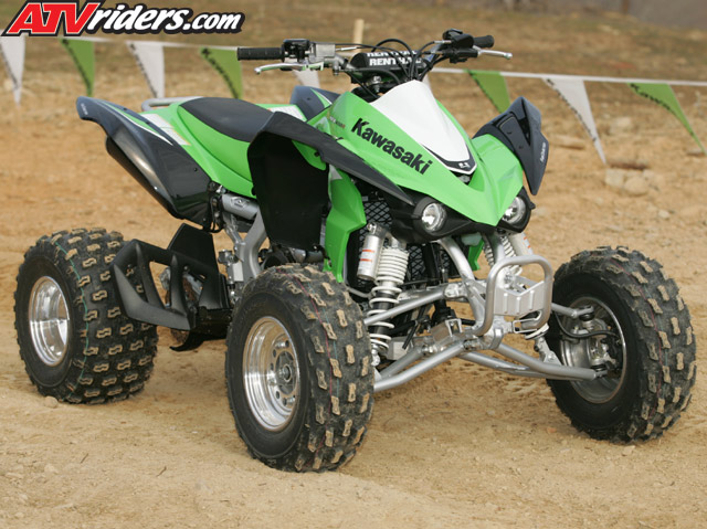 2008 Kawasaki KFX450R Sport / Race ATV Press Intro