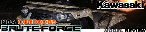 2009 Kawasaki Brute Force 750 FI 4x4 NRA Utility ATV Ride Review