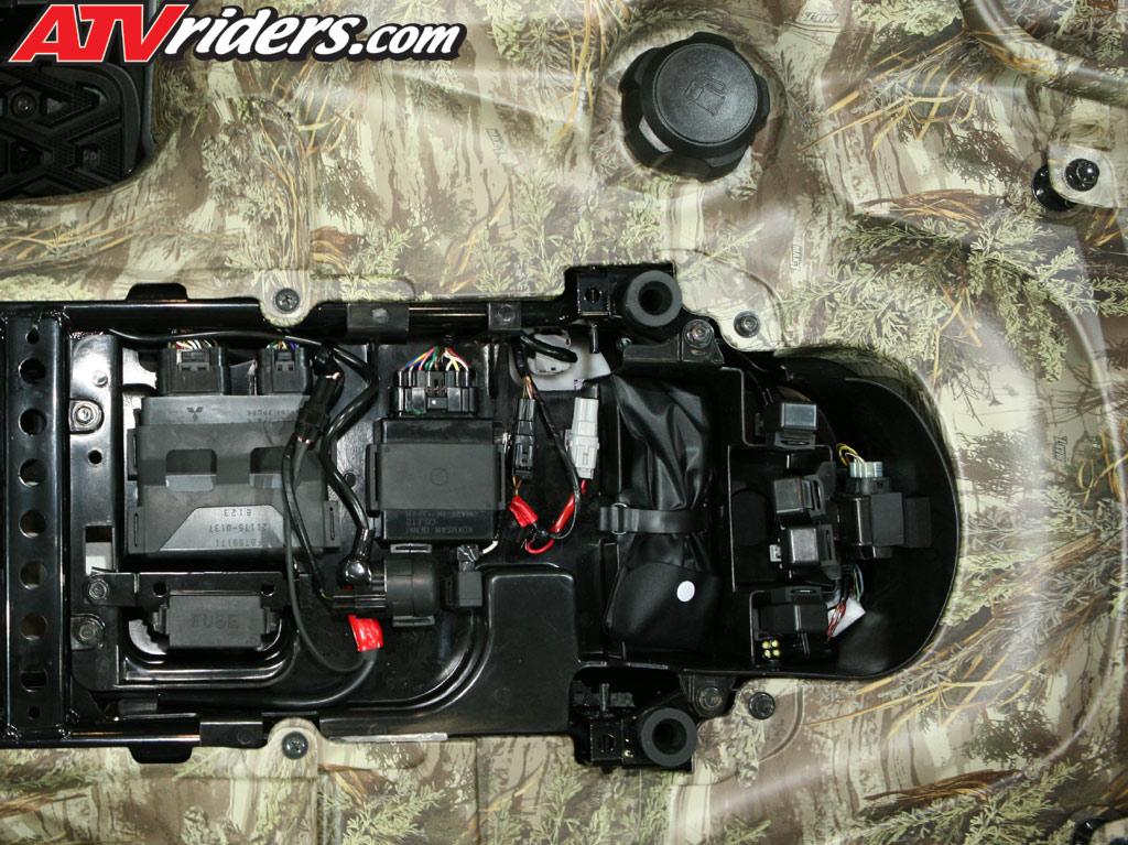 2009 Kawasaki Brute Force 750 FI 4x4 NRA Utility ATV Ride Review on