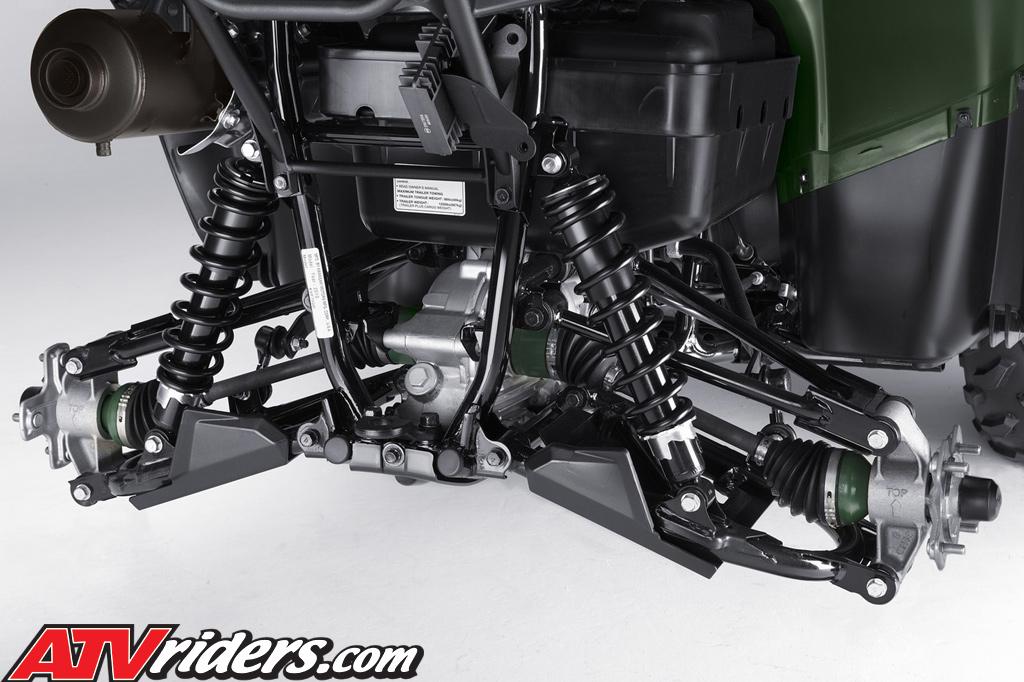 2010 Kawasaki Brute Force 4x4 Utility Atv Ride Review Test