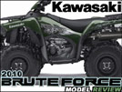 2010 Kawasaki Brute Force 4x4 Utility ATV Ride Review / Test Ride