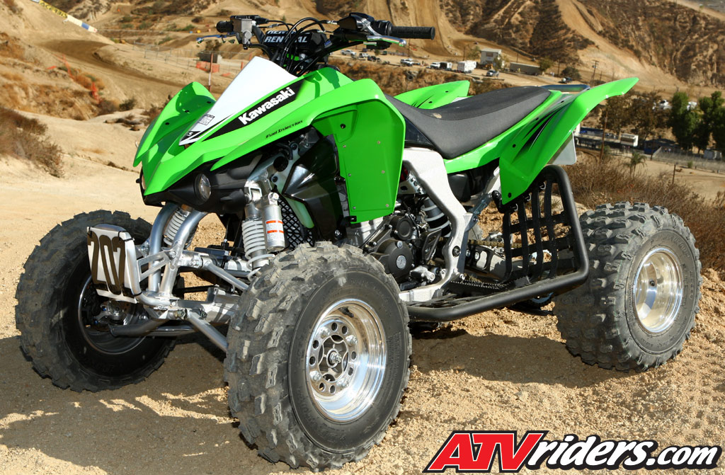 2010 kawasaki kfx 450r atv worcs racing test ride review. Black Bedroom Furniture Sets. Home Design Ideas