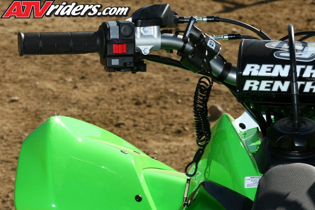 ATV Sport Racing: Review Kawasaki KFX 450R