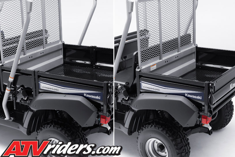kawasaki 2011 mule 4010 4x4 trans utv cargo bed transform 2011 kawasaki mule 4010 trans 4x4 utility vehicle features kawasaki mule 610 fuse box location at bakdesigns.co