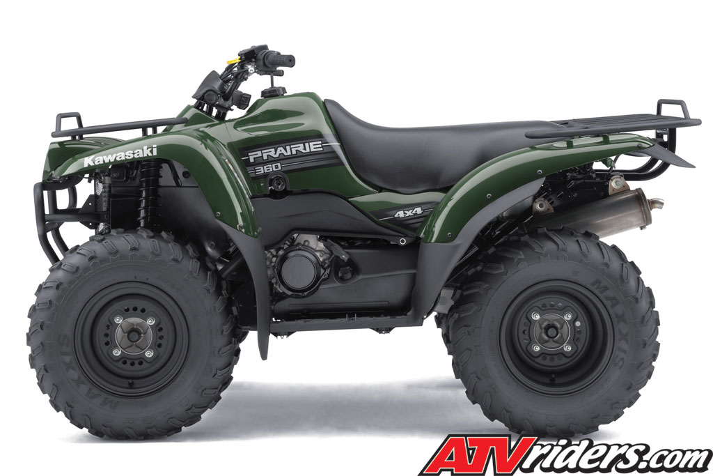 woodsman green side view prairie 360 4x4 atv