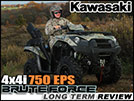 2012 Kawasaki Brute Force 750 4x4i Utility ATV Long Term Review