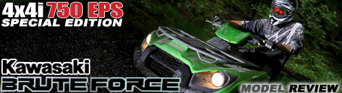 Kawasaki Brute Force 750 4x4 FI Utility ATV Test Ride Review