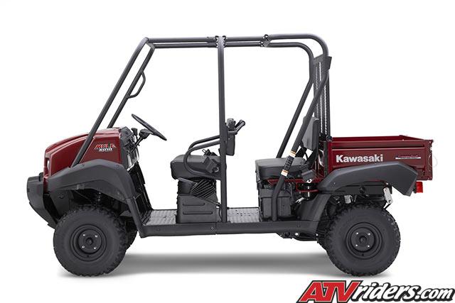 2009 Kawasaki Mule 4010 Trans 4x4 Side X Side Utility