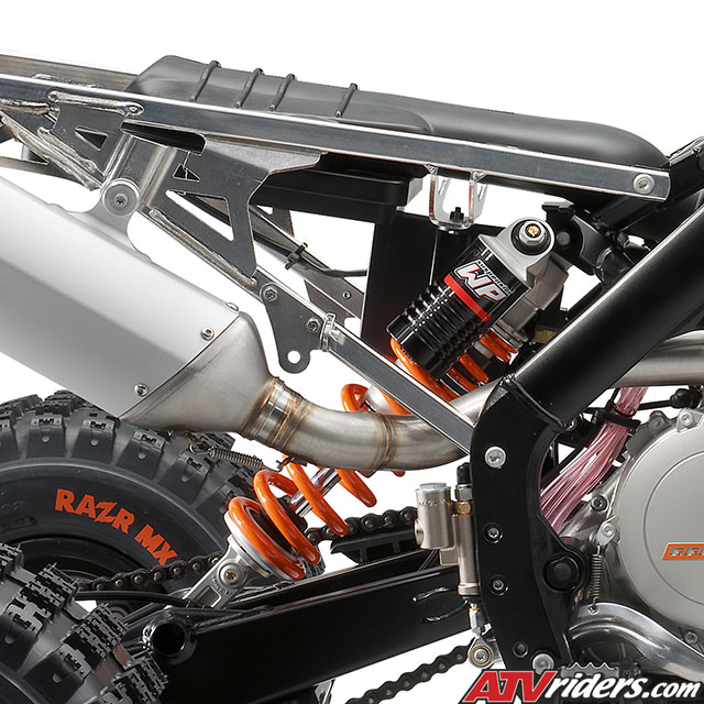2009 KTM 450SX and 505SX Race Ready ATV Technical Info - Chassis
