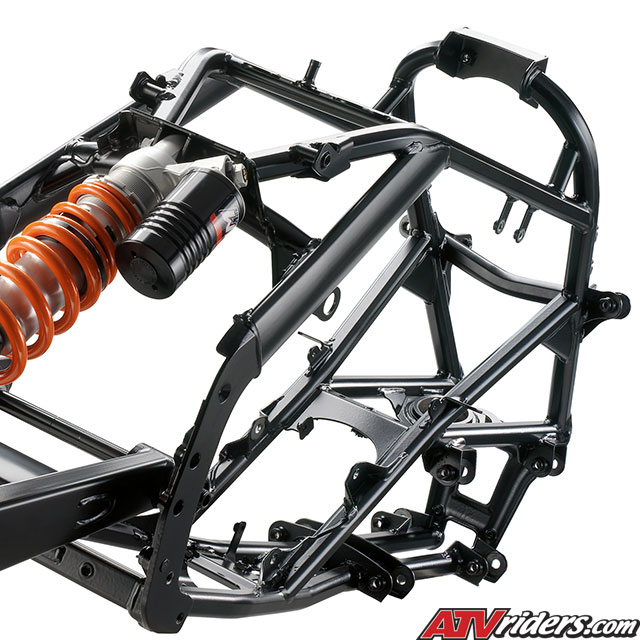 2009 KTM 450SX and 505SX Race Ready ATV Technical Info - Suspension
