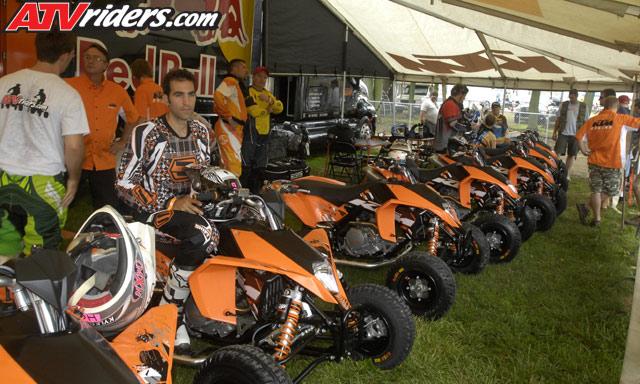 2009 KTM 505SX & 450SX ATV Motocross Test Ride / Review