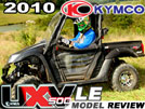 2010 KYMCO UXV500 LE UTV Test Ride / Review
