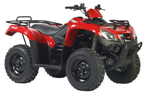 2010 KYMCO MXU 375 IRS Shaft Drive Utility ATV
