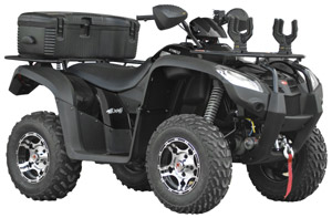 2010 KYMCO MXU 500 IRS Shaft Drive Utility ATV