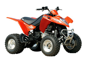 2010 KYMCO Mongoose 300 Sporty ATV