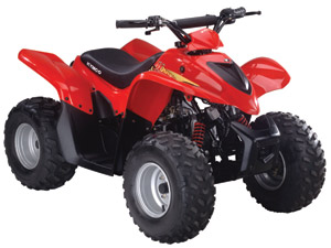 2010 KYMCO Mongoose 90R Youth Sport ATV
