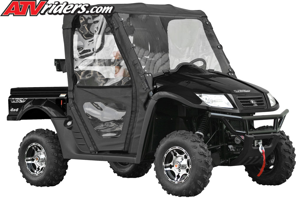 Kymco 500 UXV to be on next episode of DirtTrax TV Kymco-2010-uxv-500-le-utv-sxs-black-side-angle