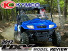 2012 KYMCO MXU 500I 4x4 IRS Utility ATV Test Ride Review