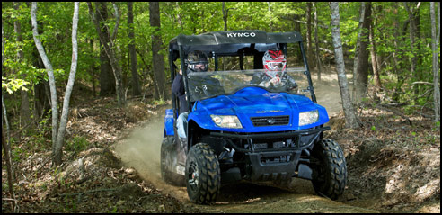 2012 kymco uxv 500i utv sxs test ride review. Black Bedroom Furniture Sets. Home Design Ideas