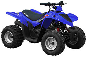 2013 KYMCO Mongoose 70 Youth Sport ATV