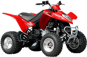 2014 KYMCO Mongoose 300 ATV