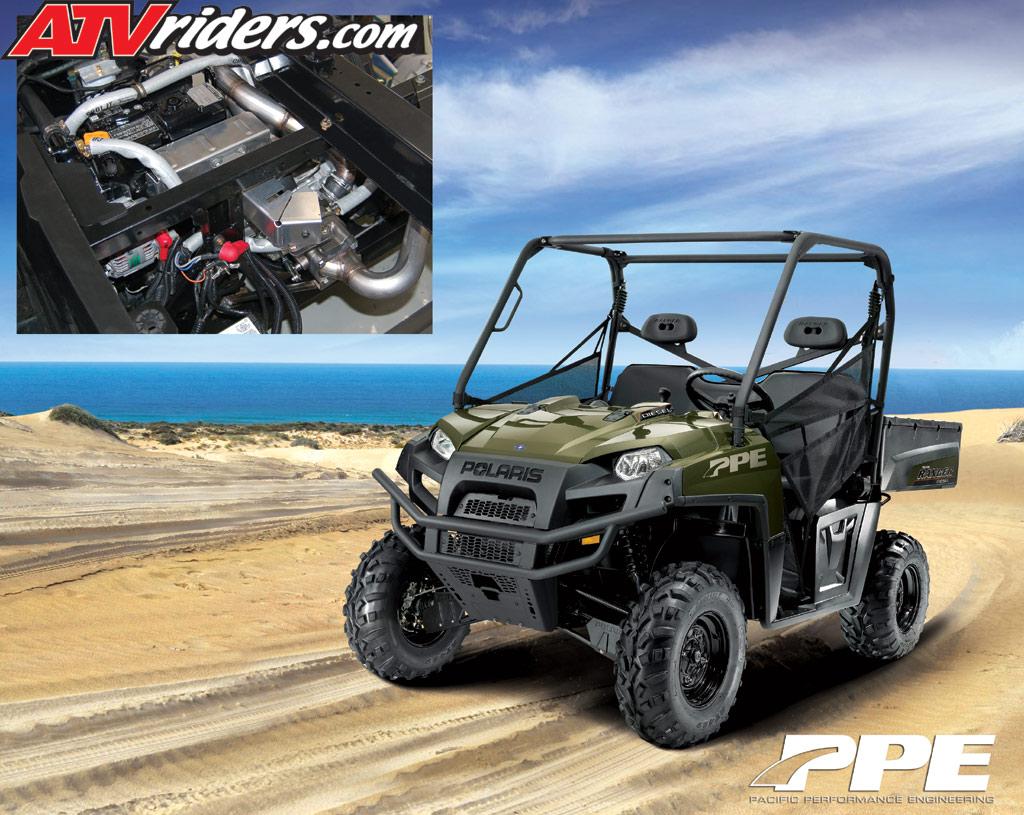 Atv Turbo Kit : Turbo kit new for polaris ranger diesel side