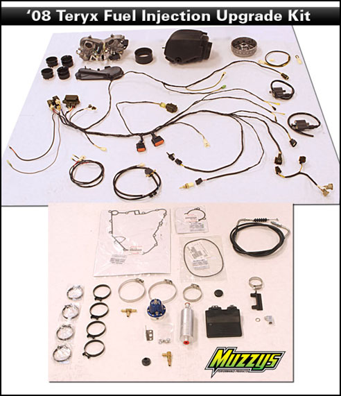 Muzzys Performance 2008 Teryx Fuel Injection Upgrade Kit