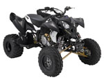 Outlaw 525 S Stealth Black and Gold-Blazin' L.E. ATV