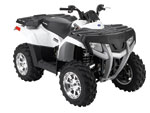 Sportsman 300 Pearl White L.E. ATV