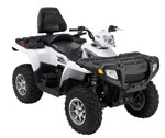 Sportsman 500 Touring Pearl White L.E.