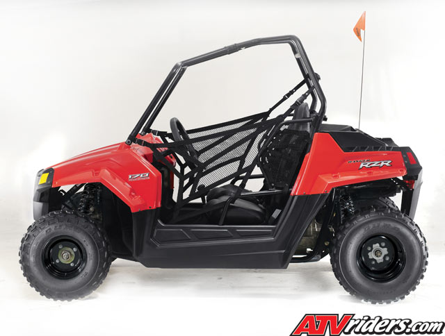 Polaris Adds Youth Ranger Rzr 170 To Model Year 2009 Line Up