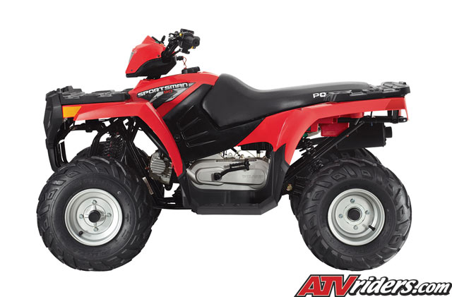 2009 Polaris Outlaw 90, Outlaw 50 and Sportsman 90 Youth ATV's