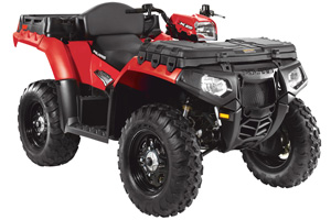 2011 Polaris Sportsman 550 EFI  ATV