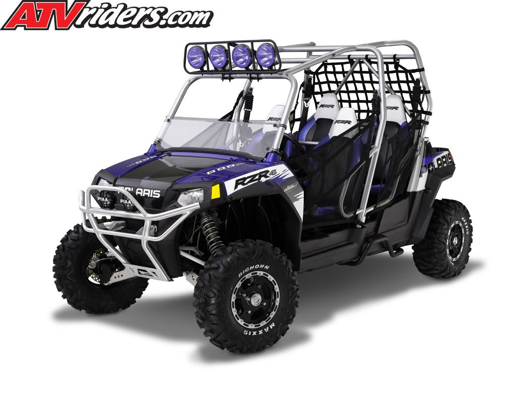 the polaris ranger rzr 4 will be available at polaris dealerships in