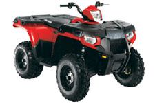 Sportsman 500 H.O. EFI 4x4 ATV - Indy Red