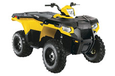 Sportsman 500 H.O. EFI 4x4 ATV - Medium Yellow