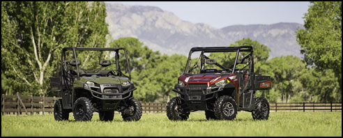 2013 Polaris RANGER 800 EFI and RANGER XP 900 4x4 SxS / UTV
