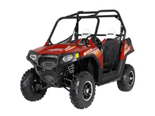 Polaris RZR 800 SxS / UTV - Limited Edtion Sunset Red