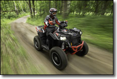 Polaris Scrambler XP 850 HO ATV