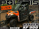 2013 Polaris RANGER XP 900 SxS / UTV Test Drive Review