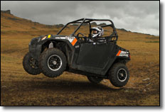 2013 Polaris RZR 570 Trail Limited Edition SxS / UTV Jump