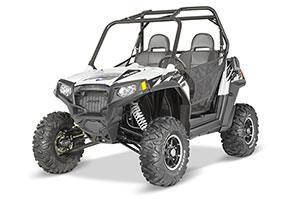 2014 Polaris RZR S 800 EPS FOX White Lightning