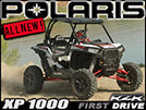 2014 Polaris RZR XP 1000 SxS First Impression Review