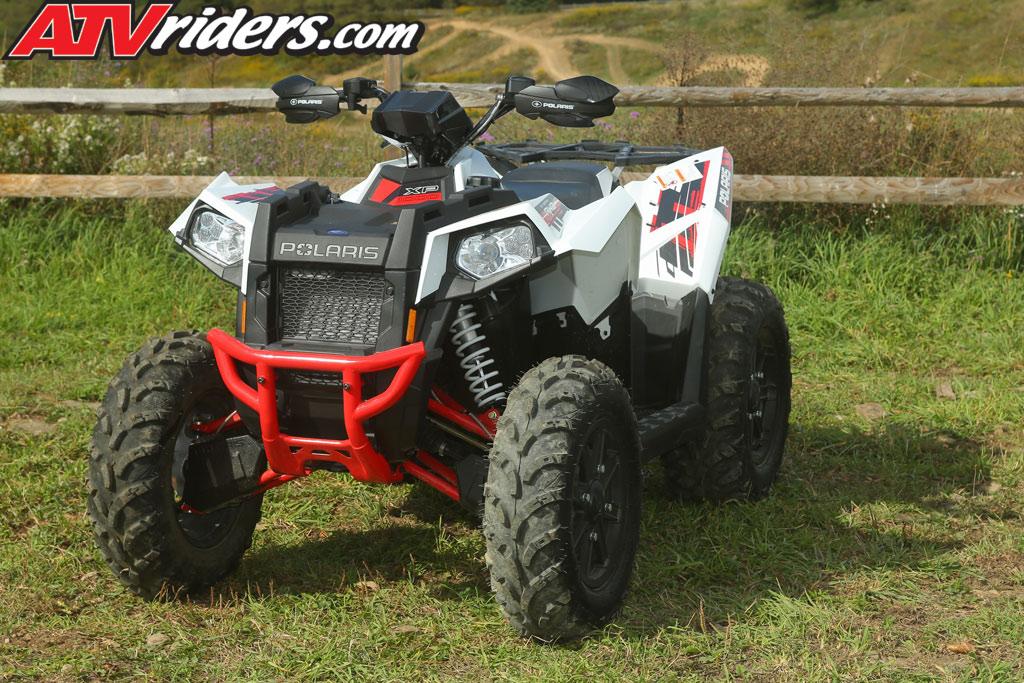The 20143 Polaris Scrambler XP 1000 ATV features a futuristic look