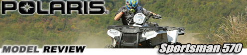 2014 Polaris Sportsman 570 Utility ATV Test Ride Review