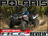 2014 Polaris Sportsman ACE Test Drive Review